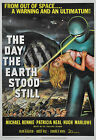 """THE DAY THE EARTH STOOD STILL"" .Vintage Sci-Fi Movie Poster A1 A2 A3 A4Sizes"