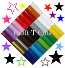 36 GLOSS VINYLTRANSFER STAR STICKERS  COLOUR CHOICE CAR BEDROOM WALL ART BIKE