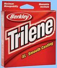 Berkley Trilene XL 330 Yards Smooth Fishing Line - Choice of Color and Strength