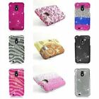 Bling Hard Cover Case For Samsung Galaxy S II 2 S2 Epic 4G Touch D710 Sprint