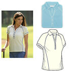 Glenmuir Ladies Glenmuir Allegra Hi-Cool Jersey Golf Polo Shirt RRP £41.00