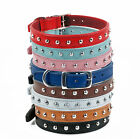 """OUR LEATHER  STUDDED DOG COLLAR 16""""-18"""" NECK 3/4"""" WIDE"""