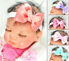 Baby Headband Hairband Coral Bow Coral Polka Dot Butterfly Age 0 - 3 Years