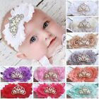 Baby Headband Hairband Turquise Bow Turquise Butterfly Age 0 - 3 Years