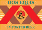 DOS EQUIS Sticker Decal *DIFFERENT SIZES* Mexican Beer Bumper Bar Window Wall