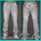 NEW stitch GREY JEANS FOR MEN JEAN PANTS MENS DENIM WEAR MEN'S CLOTHING FASHIONS