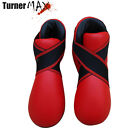 TurnerMAX Martial arts MMA foot protector kick boxing Training karate boot Red