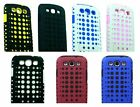 For Samsung Galaxy S3 III i9300 i747 Cover Spotted Kickstand Hard Soft Gel Case