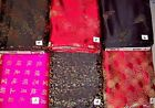 STUNNING WOVEN DESIGNS Chinese jacquard 100% polyester med wt dressy fabrics