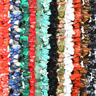 Multi-Color Natural Gemstone Beads Chip Necklace 32-36""