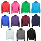 Mens Plain Zip Up Sweater Jacket Choose Your Colour NEW S-XXL