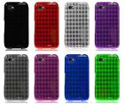 For HTC First Facebook Phone Cover Rubber Gel Candy Soft TPU Accessory Case