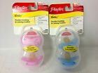 New Playtex Pacifier Binky most like mother nipple latex 2 in pack