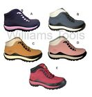 Womens Ladies Safety Work Steel Toe Cap Boots Shoes Hiking Leather Size 3 - 8