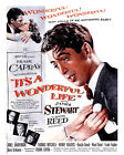 ITS A WONDERFUL LIFE 06 (JAMES STEWART) FILM POSTER PRINT