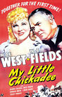 MY LITTLE CHICKADEE 01 (WC FIELDS AND MAE WEST ) FILM POSTER PRINT