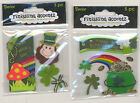 U CHOOSE  Darice finishing accentz POT OF GOLD HAPPY ST. PATRICK'S 3D Stickers