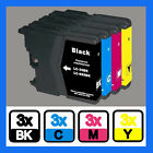 12PK COMPATIBLE INK CARTRIDGE FOR Brother Series Printer