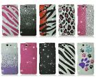 For Sony Xperia Z L36H C6603 Bling Gem Hard Cover Case