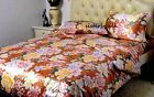 16MM 100% PURE SILK PRINTED DUVET QUILT COVER PILLOW CASES COVER SET ALL SIZE