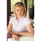 2013 Glenmuir Ladies Madelaine Mercerised Cotton Shaped Fit Golf Polo Shirt
