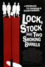 LOCK STOCK AND TWO SMOKING BARRELS (VINNY JONES AND STING) MINI FILM POSTER 01