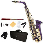 Mendini Eb Alto Saxophone Sax ~Gold Silver Blue Green Purple Red +Care Kit