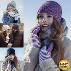 Heat Holders - Ladies HEAT WEAVER 2.3 Tog Thermal Lined Winter Gloves 6 colours