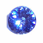 NATURAL CEYLON BLUE SAPPHIRE - ROUND DIAMOND CUT - SRI LANKA - SELECT GRADE