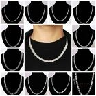 2013 New Wholesale 925Silver Jewelry Ladies/Mens Solid Silver Chain Necklace+box