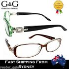 New G&G Ladies Reading Glasses Round Green Brown Black 1.0 1.5 2.0 2.5 3.0 3.5