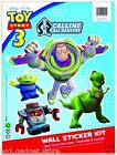 Disney Pixar Toy Story 3 Wheelie Bin/ Wall Sticker Kit Kids Film - 3 Styles
