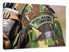 royal marines commando badge canvas print photo photograph picture gift present