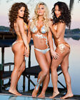 MISS TESSMACHER AND GAIL KIM AND TARYN TERRELL 22 (WRESTLING) PHOTO PRINT