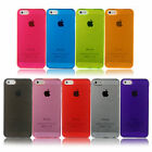 Crystal Ultra Thin Hard Case Cover for iPhone 5s Includes Screen Guard UK Seller