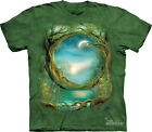 NEW MOON TREE Pagan Celtic Green The Mountain T Shirt Adult Sizes