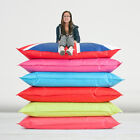 Giant Outdoor Indoor Filled Beanbag Seat Chair Floor Cushion Chill EXTRA LARGE