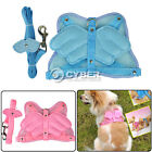 New Angel Wings Pet Dog Adjustable Safety Harness Mesh & Leash 2 Colors Hotsale