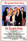 ST. ELMOS FIRE (ROB LOWE AND EMILIO ESTEVEZ AND DEMI MOORE) FILM POSTER PRINT 01