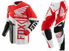NEW 2014 FOX RACING 360 HONDA MX DIRT BIKE OFFROAD GEAR COMBO RED ALL SIZES