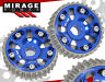 ACURA HONDA B16A B16 ENGINE MOTOR ADJUSTABLE CAM GEAR CAM SHAFT PERFORMANCE BLUE