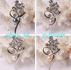 7-8mm beautiful  freshwater pearl with gold plated flower shape brooch 25x52mm