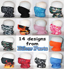 Twin pack of  multifunction neck tube bandana cycle walking motorcycle bike