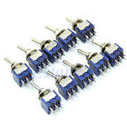 5/10/20/50Pcs 6-Pin DPDT ON-ON Mini Toggle Switch 6A 125VAC Mini Switches