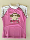New Girls Swimwear Swimmers Rashie Top-Cheeky Monkey. Sizes 7,8,9,10,12
