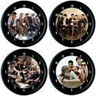 THE WANTED MAX GEORGE NATHAN SYKES TOM PARKER WALL CLOCK BOY BAND FAN GIFT
