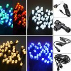 Connectable 100 LED String Lights Power Cord Extension Cables Waterproof Outdoor