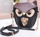 Fashion Womens Girls Owl Satchel Messenger Shoulder Handbag CrossBody Purse Bag