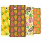 HEAD CASE DESIGNS PINEAPPLE PATTERN CASE COVER FOR SONY XPERIA Z C6603