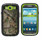Military Straw Grass  Green Forest Camo Cover Case for Samsung Galaxy S3 i9300